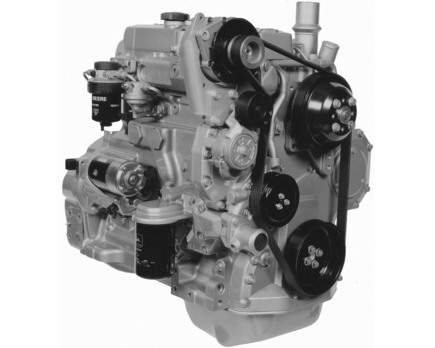 John Deere Engines : John deere remanufactured df engine melton industries