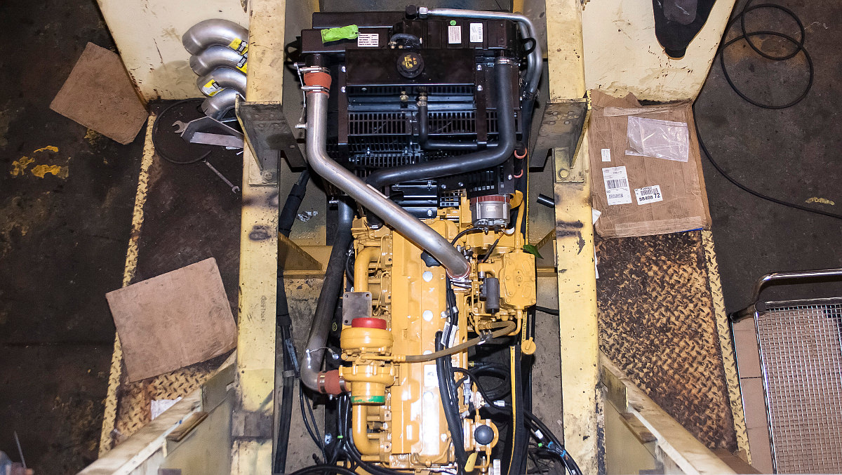 Hyster H650C Forklift Re-power