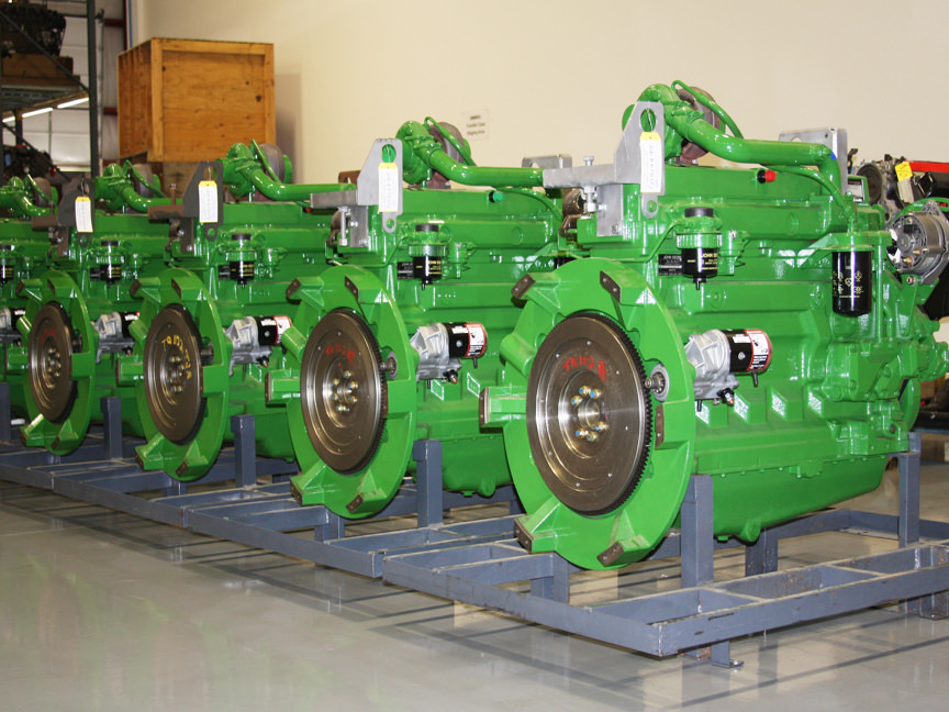 Ready John Deere Engines