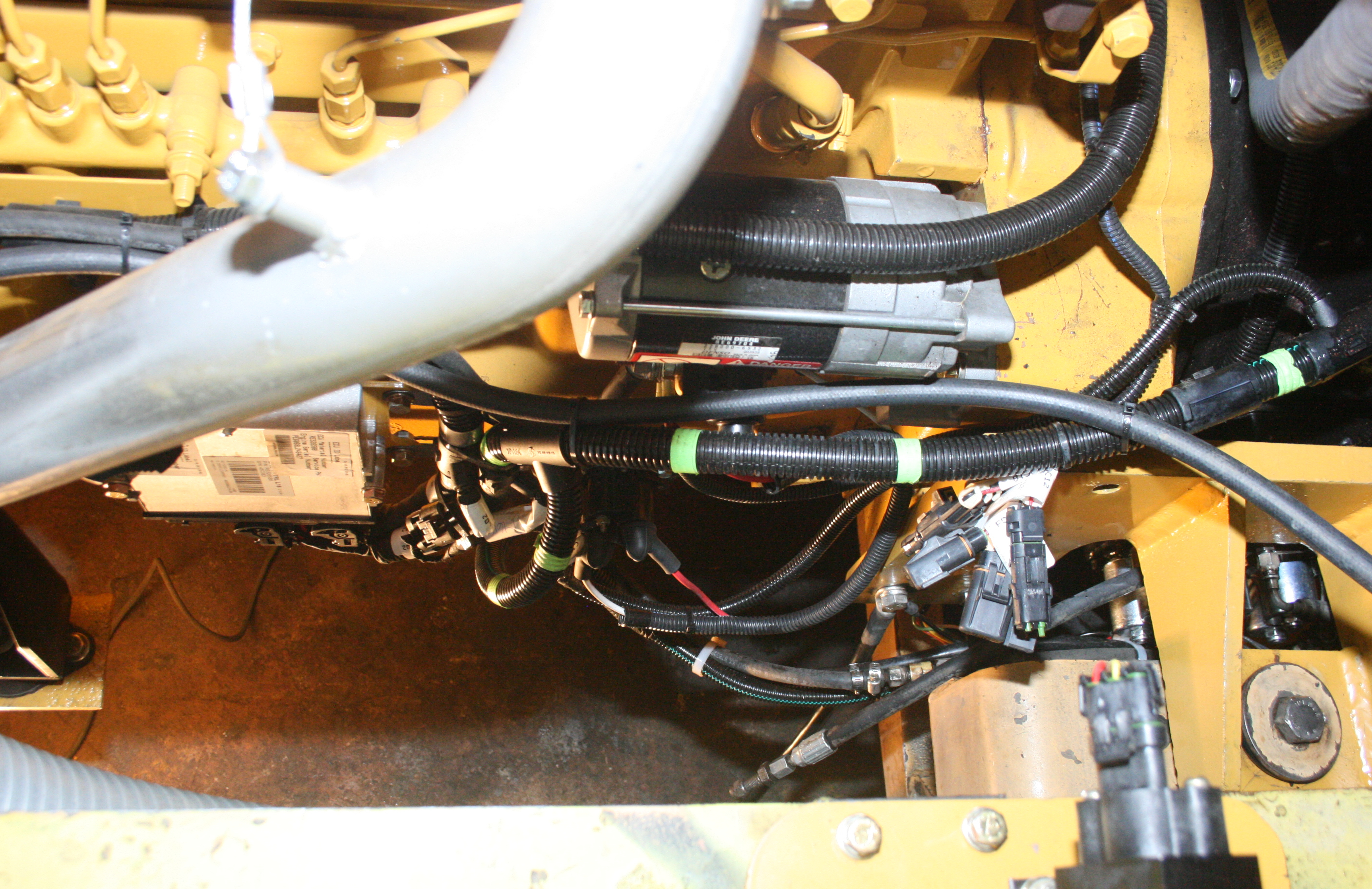 John Deer 6068HF285 Wiring and Control Pack