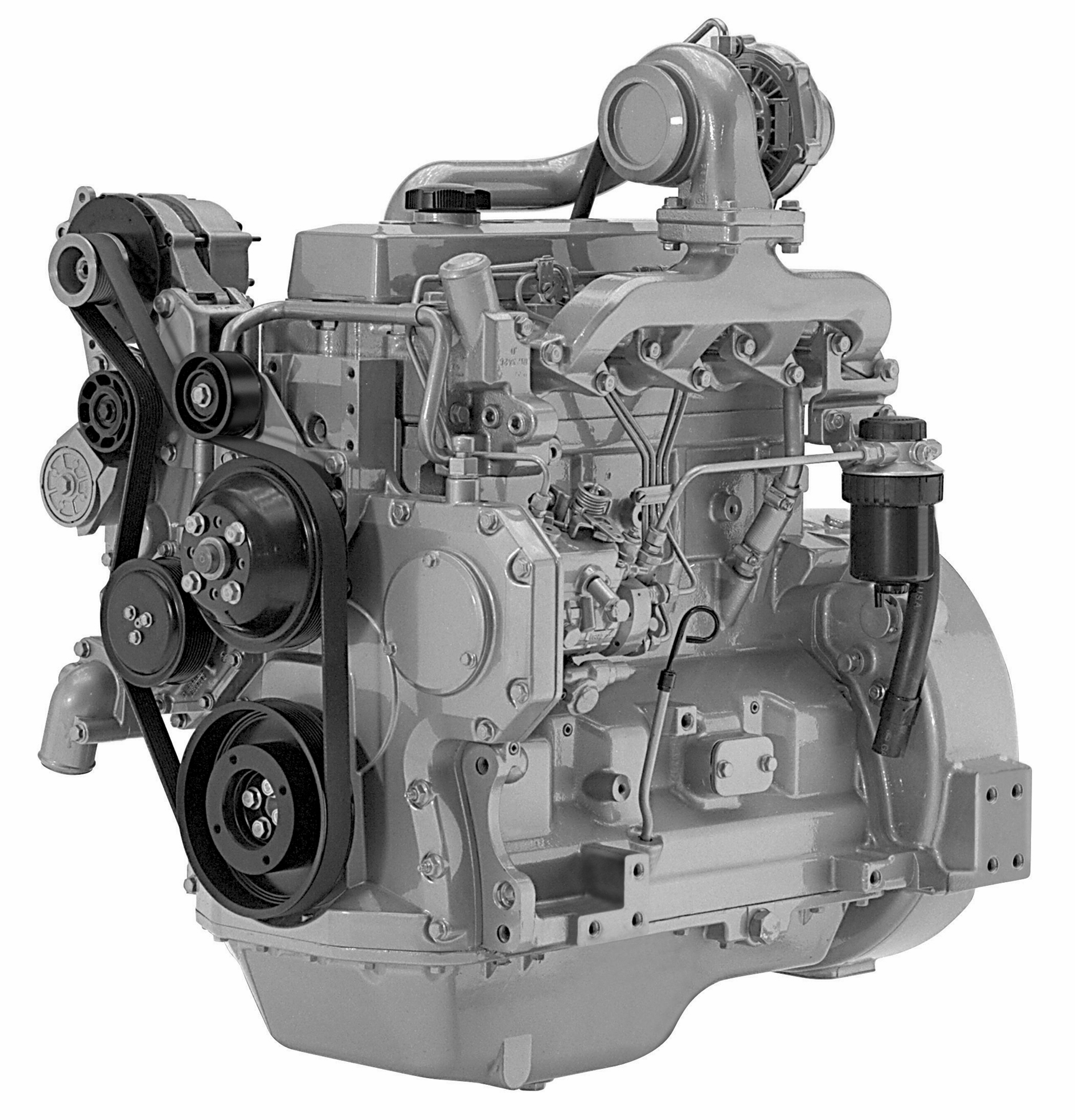John Deere Engines : Remanufactured john deere tf hf diesel engine no ecu