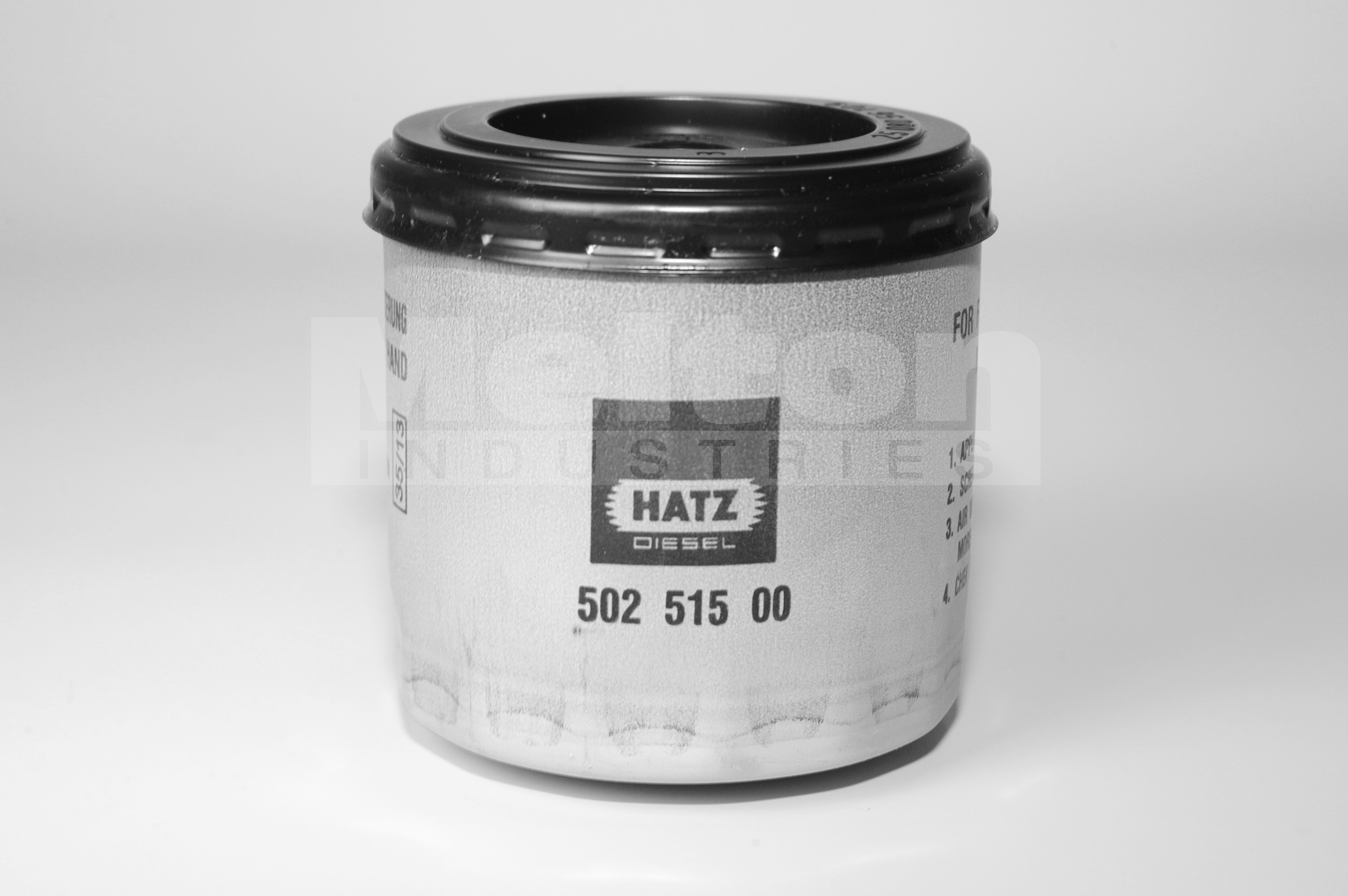 Hatz 1b20 Diesel Engine Electric Start Melton Industries Wiring Diagram Fuel Filter Element 50251501