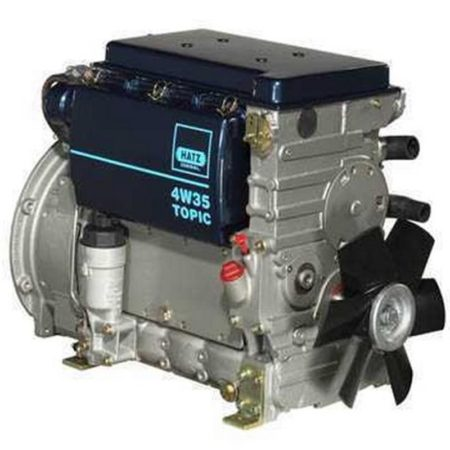 Yanmar Remanufactured Diesel Engine 3TNV76-N-R REMAN